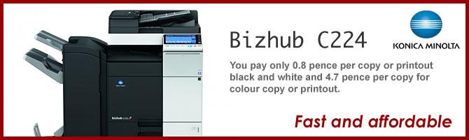 Bizhub C224
