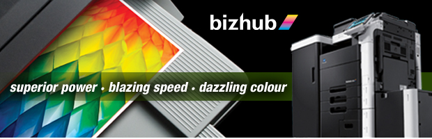 Konica Minolta offer Bizhub Colour MFP