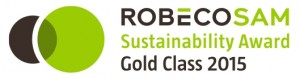 ROBECOSAM-Sustainability-Award-Gold-Class-2015