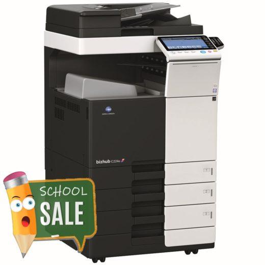 Konica Minolta Bizhub C224e DF-624 OT-506 PC-110 10 KEY Colour Copier Printer Rental Price Offers