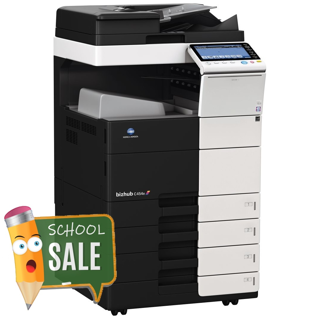 Konica Minolta Bizhub C454e Colour Copier Printer Rental Price Offer
