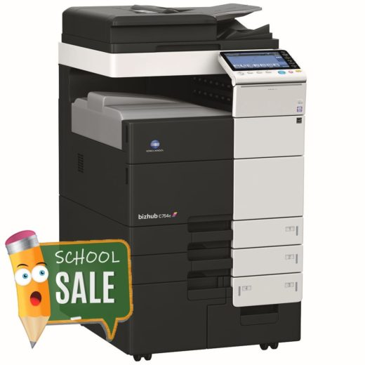 Konica Minolta Bizhub C754e Colour Copier Printer Rental Price Offers