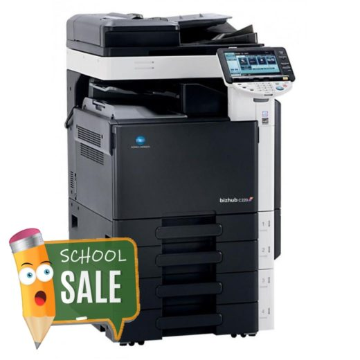 Konica Minolta Bizhub C220 Colour Copier Printer Rental Price Offers