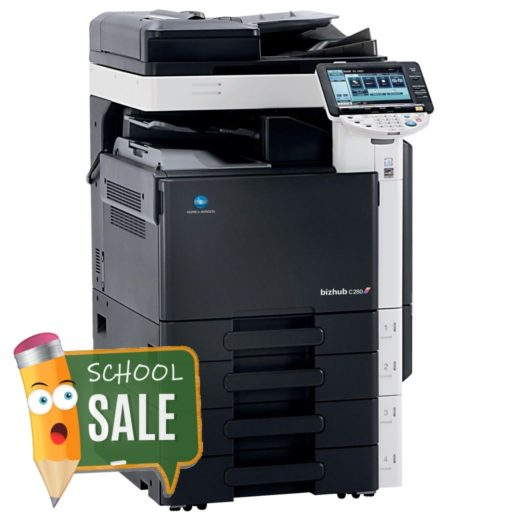Konica Minolta Bizhub C280 Colour Copier Printer Rental Price Offers