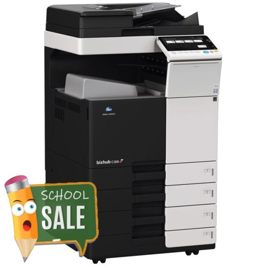Konica Minolta Bizhub C308 DF 704 OT 506 PC 210 Colour Copier Printer Rental Price Offers