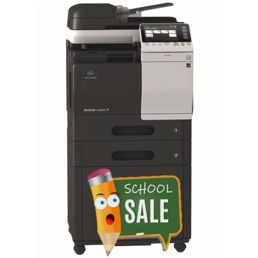Konica Minolta Bizhub C3850FS FP 2x PF-P13 DK-P03 Colour Copier Printer Rental Price Offers
