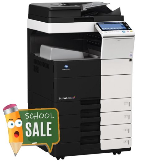 Konica Minolta Bizhub C554 DF-701 OT-506 PC-210 Colour Copier Printer Rental Price Offers