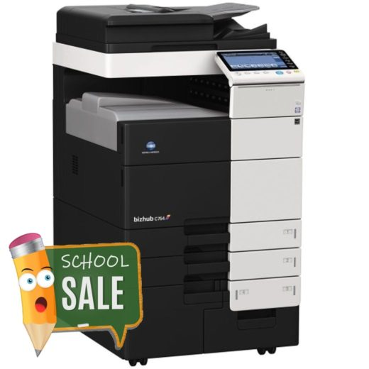 Konica Minolta Bizhub C754 Colour Copier Printer Rental Price Offers