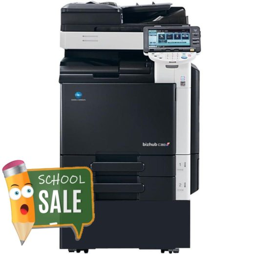 Konica Minolta Bizhub C360 DF-617 Colour Copier Printer Rental Price Offers