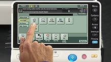 Bizhub C454 Training Scanning and Faxing