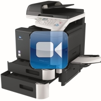 Konica Minolta Bizhub C3110 Video Training
