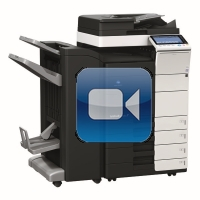 Konica Minolta Bizhub C454 Video Training