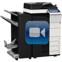 Konica Minolta Bizhub C454e Video Training