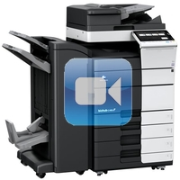 Konica Minolta Bizhub C458 Video Training