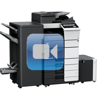 Konica Minolta Bizhub C558 Video Training