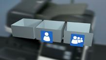 Bizhub C3851 Training User Boxes