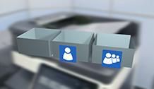 Bizhub C658 Training User Boxes