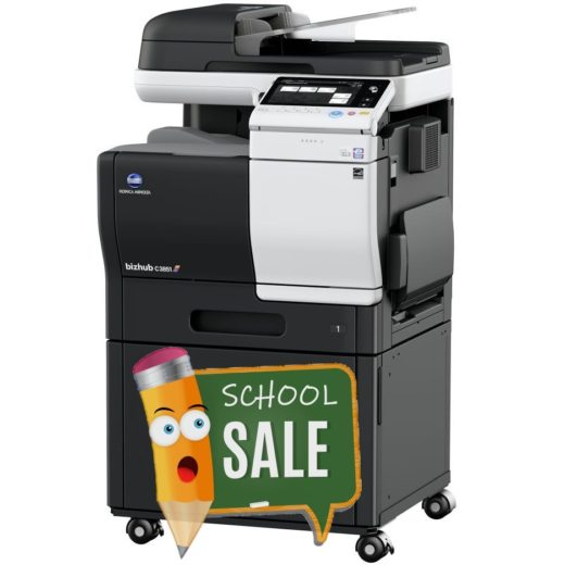 Konica Minolta Bizhub C3851 DK-P03 Colour Copier Printer Rental Price Offers Right