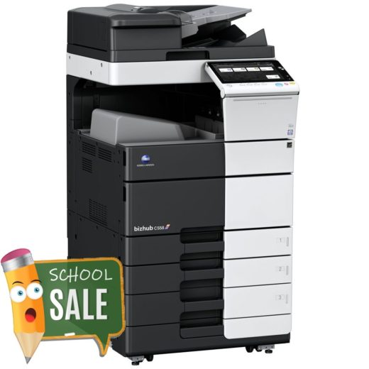 Konica Minolta Bizhub C558 OT 506 PC 115 Colour Copier Printer Rental Price Offers