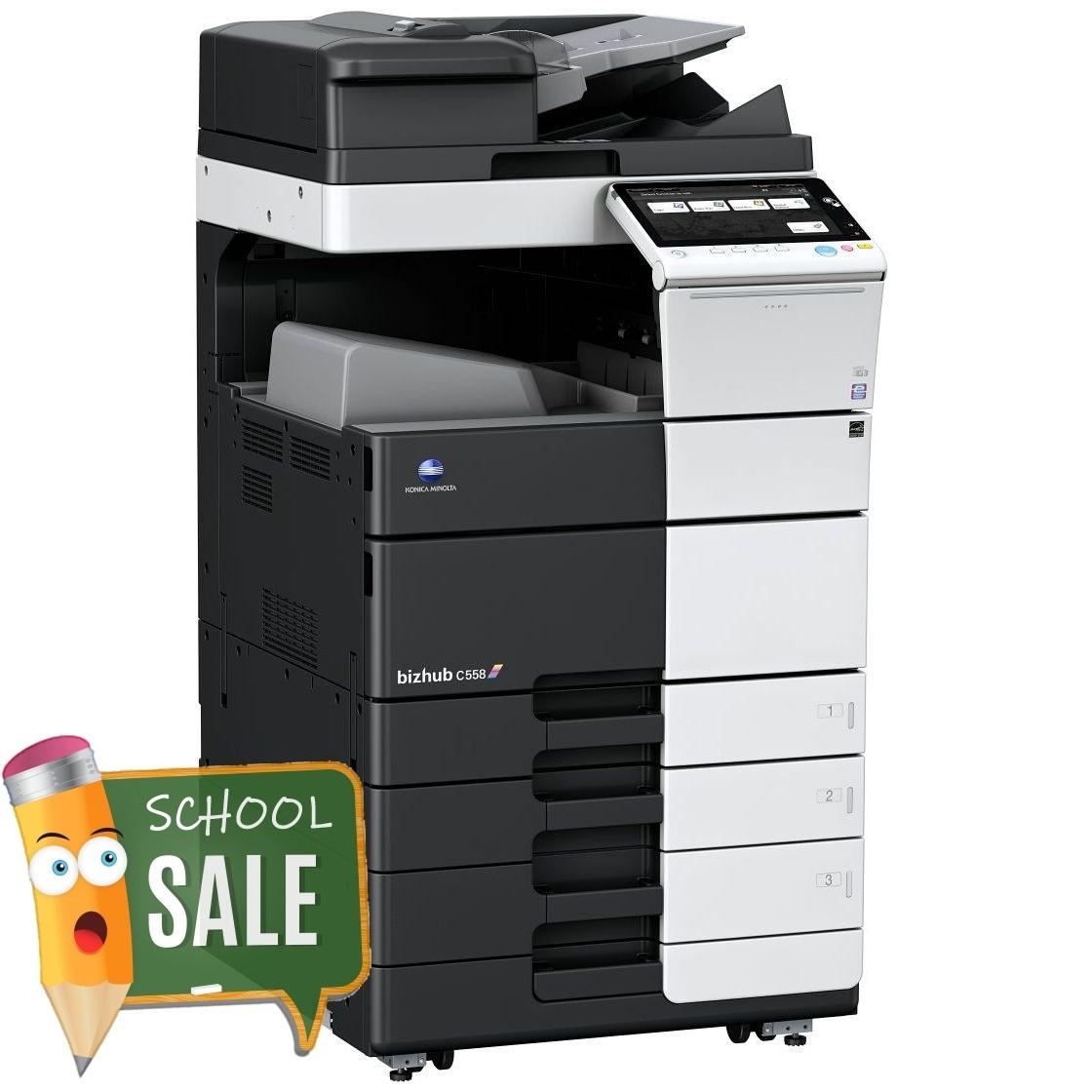 Konica Minolta Bizhub C558 OT 506 PC 115 Colour Copier Printer Rental Price Offers
