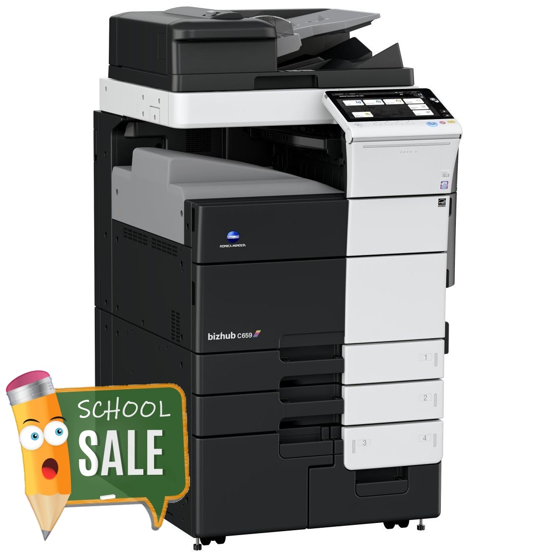 Konica Minolta Bizhub C659 OT-508 Colour Copier Printer Rental Price Offers
