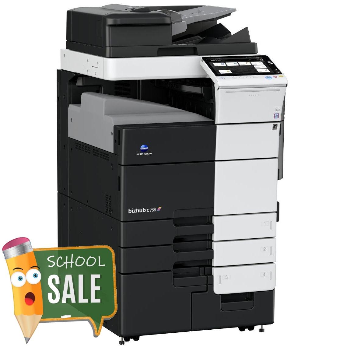 Konica Minolta Bizhub C759 OT-508 Colour Copier Printer Rental Price Offers