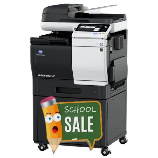 Konica Minolta Bizhub C3851FS DK-P03 Colour Copier Printer Rental Price Offers Right