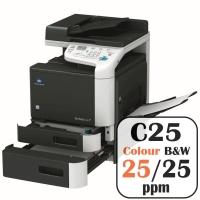 Konica Minolta Bizhub C25 Colour Copier Printer Rental Price Offers Frontpage