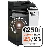 Konica Minolta Bizhub C250i Colour Copier Printer Rental Price Offers Frontpage