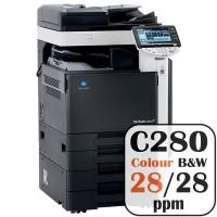 Konica Minolta Bizhub C280 Colour Copier Printer Rental Price Offers Frontpage