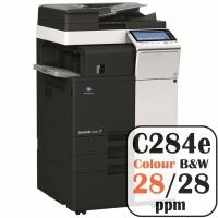 Konica Minolta Bizhub C284e Colour Copier Printer Rental Price Offers Frontpage