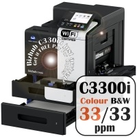 Konica Minolta Bizhub C3300i Colour Copier Printer Rental Price Offers Frontpage