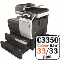 Konica Minolta Bizhub C3350 Colour Copier Printer Rental Price Offers Frontpage
