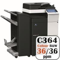Konica Minolta Bizhub C364 Colour Copier Printer Rental Price Offers Frontpage