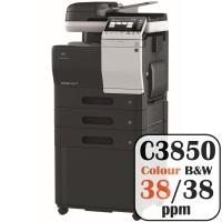 Konica Minolta Bizhub C3850 Colour Copier Printer Rental Price Offers Frontpage