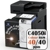 Konica Minolta Bizhub C4050i Colour Copier Printer Rental Price Offers Frontpage