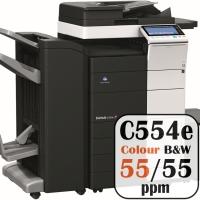 Konica Minolta Bizhub C554e Colour Copier Printer Rental Price Offers Frontpage